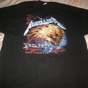 Off black oversized T Shirt